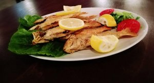 Fresh fish, Traditional Taverna Agkali, Lefkimmi