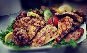 Mix grill, Traditional Taverna Agkali, Lefkimmi