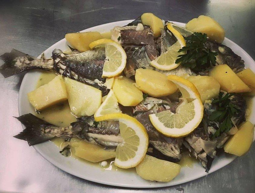 Fresh fish Bianco